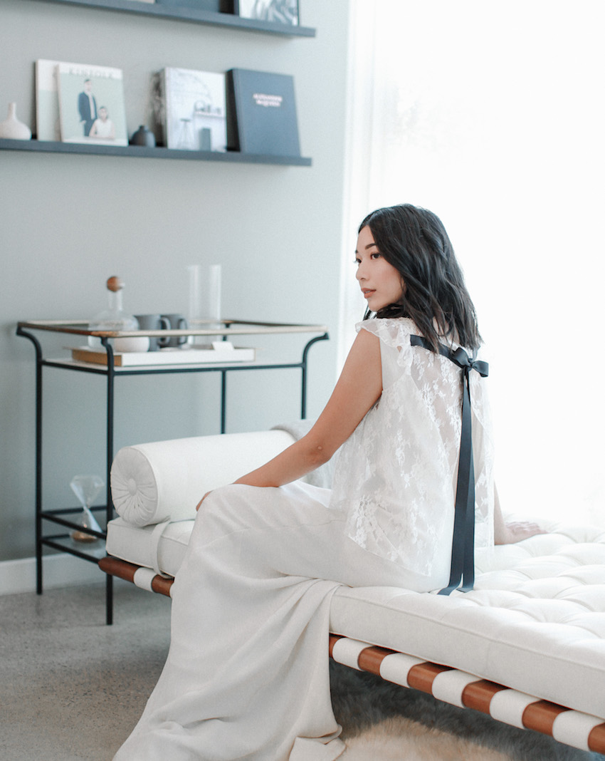 The Singular Bride, featuring Loho Bride. Photo by Kristine Lopez. | HONEY & SILK