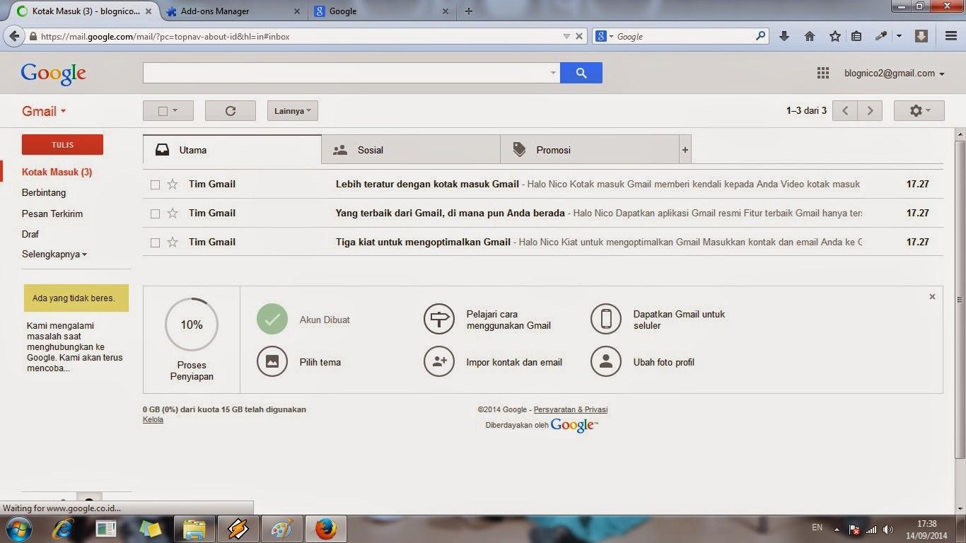 gmail, email, cara, membuat, bikin, tutorial