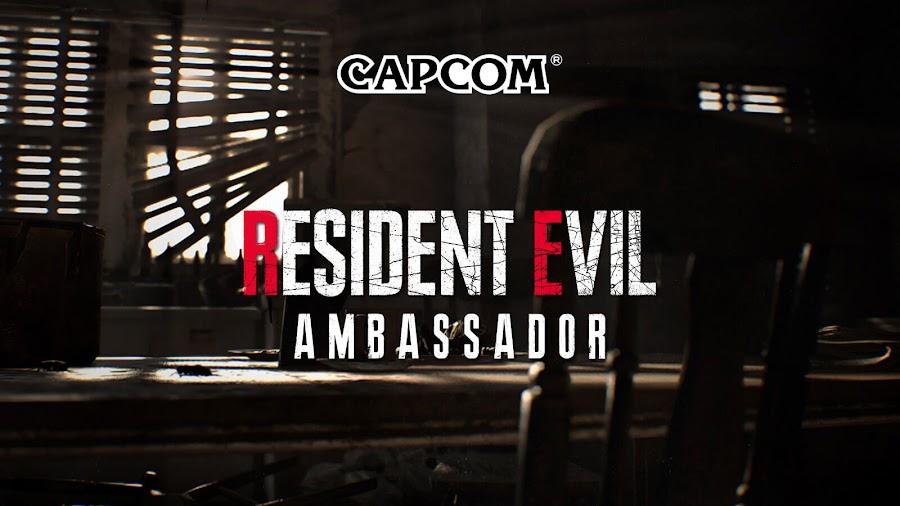 capcom ambassador u.s. tester new resident evil game september 2019
