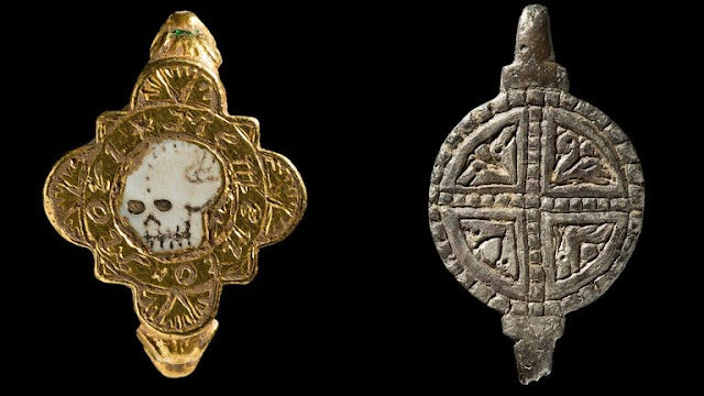 Unique Treasures Found Including Artefacts From the Medieval Period