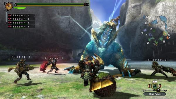 Monster Hunter 3 Ultimate + Update Wii U ROM Screenshots #5