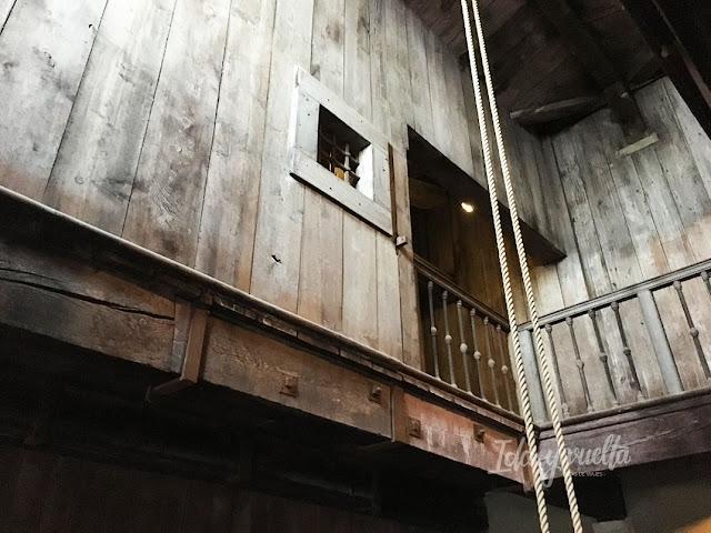 Itinerarios Secretos sala tortura