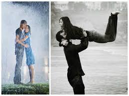 رقصات مجنونة تحت المطر