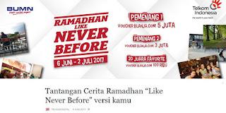 Lomba Cerita Ramadhan Telkom Digital Hadiah Total 20 Juta
