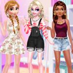 لعبة تلبيس 3 بنات