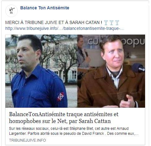 stéphane Blet et Arnaud Largentier