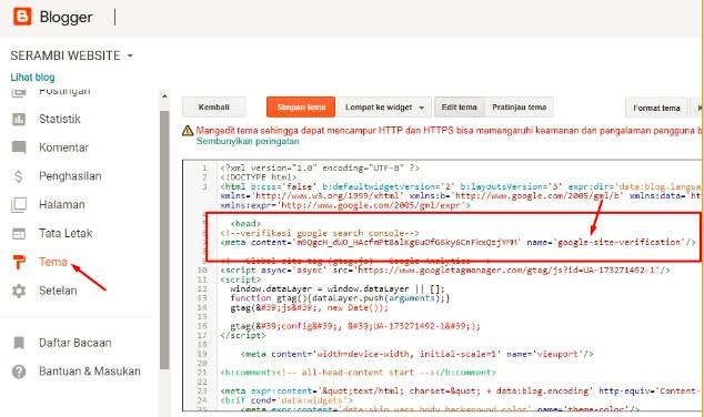 Cara Mendaftar Google Search Console Untuk Blog