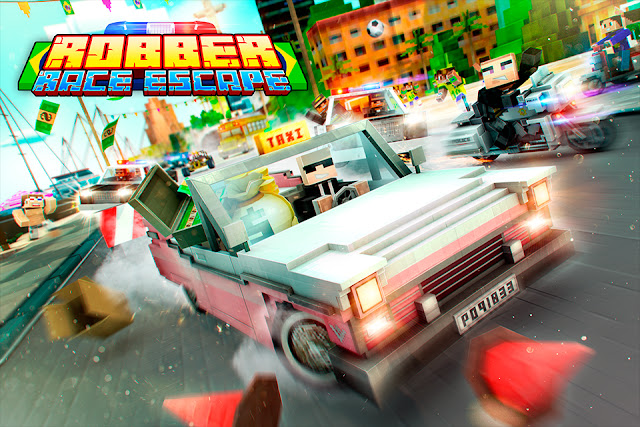تحميل لعبة Robber Race Escape v2.6.0 مهكرة للاندرويد