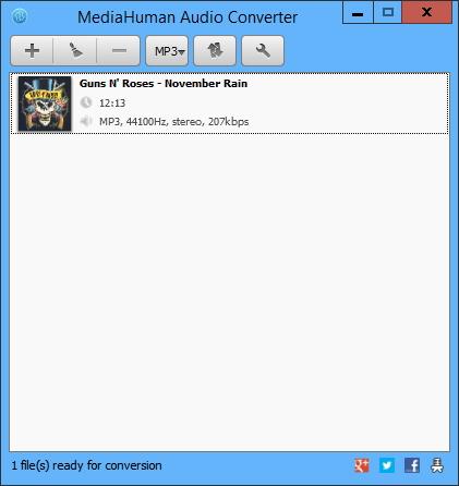 Conversor de formatos de audio sencillo, efectivo y gratuito