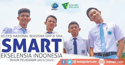 Beasiswa SMART Ekselensia SMP SMA