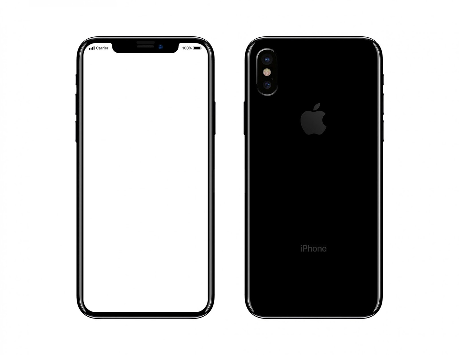 Apple's upcoming three iPhones's to be called as iPhone X, iPhone 8 and 8 Plus which is indicated by the leaked iOS 11 GM.