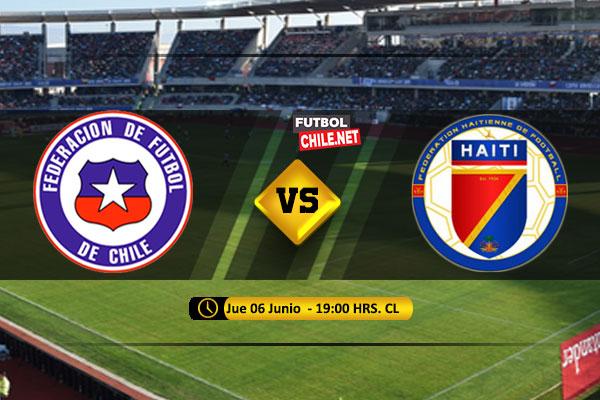 Mira Chile vs Haití en vivo y online por el Amistoso Internacional
