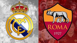 بث مباشر مباراة ريال مدريد و روما مباشرة اون لاين في دوري ابطال اوروبا