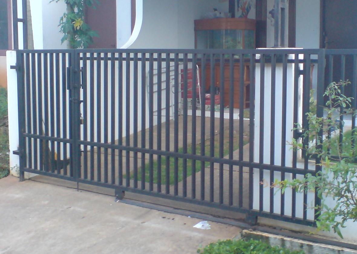 Perbaikan rumah dan renofasi pagar pagar dorong