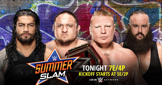 WWE SummerSlam 2017 Results
