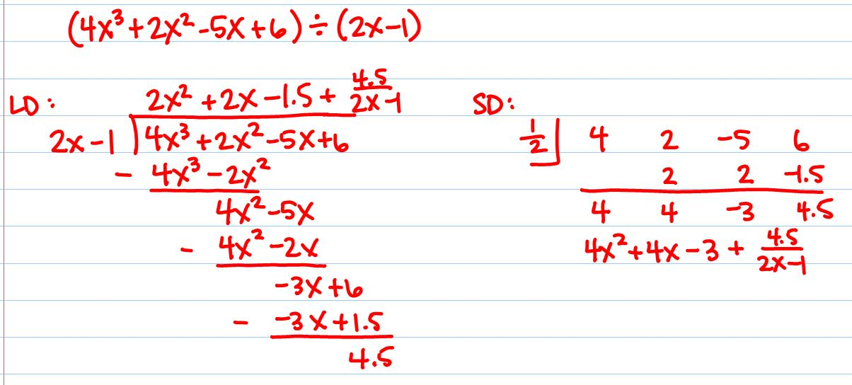 Synthetic Division Of Polynomials Worksheet Kuta ...