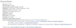 Certificación Professional Scrum Master número 1 en categoría de Informática de Internet de Amazon.com