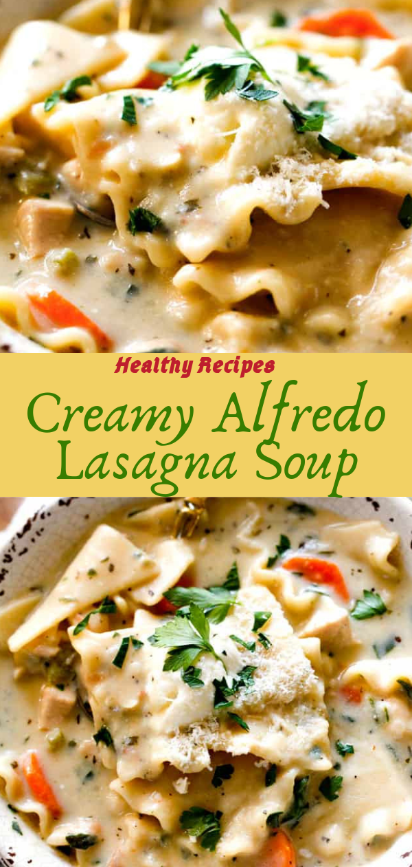 Healthy Recipes | Creamy Alfredo Lаѕаgnа Sоuр, Healthy Recipes For Weight Loss, Healthy Recipes Easy, Healthy Recipes Dinner, Healthy Recipes Pasta, Healthy Recipes On A Budget, Healthy Recipes Breakfast, Healthy Recipes For Picky Eaters, Healthy Recipes Desserts, Healthy Recipes Clean, Healthy Recipes Snacks, Healthy Recipes Low Carb, Healthy Recipes Meal Prep, Healthy Recipes Vegetarian, Healthy Recipes Lunch, Healthy Recipes For Kids, Healthy Recipes Crock Pot, Healthy Recipes Videos, Healthy Recipes Weightloss, Healthy Recipes Chicken, Healthy Recipes Heart, Healthy Recipes For One, Healthy Recipes For Diabetics, Healthy Recipes Smoothies, Healthy Recipes For Two, Healthy Recipes Simple, Healthy Recipes For Teens, Healthy Recipes Protein, Healthy Recipes Vegan, Healthy Recipes For Family, Healthy Recipes Salad, Healthy Recipes Cheap, Healthy Recipes Shrimp, Healthy Recipes Paleo, Healthy Recipes Delicious, Healthy Recipes Summer, Healthy Recipes Vegetables, Healthy Recipes Diet, Healthy Recipes No Meat, Healthy Recipes Asian, Healthy Recipes On The Go, Healthy Recipes Fast, Healthy Recipes Ground Turkey, Healthy Recipes Rice, Healthy Recipes Mexican, Healthy Recipes Fruit, Healthy Recipes Tuna, Healthy Recipes Sides, Healthy Recipes Zucchini, Healthy Recipes Broccoli, Healthy Recipes Spinach,   #healthyrecipes #recipes #food #appetizers #dinner #alfredo #lasagna #soup