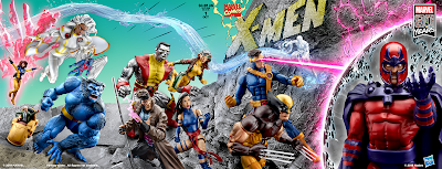 San Diego Comic-Con 2019 Exclusive X-Men #1 Marvel Legends Action Figure Posters by Hasbro