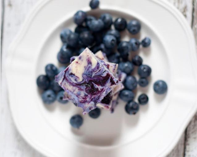 Blueberry Pie Fudge #dessert #recipes