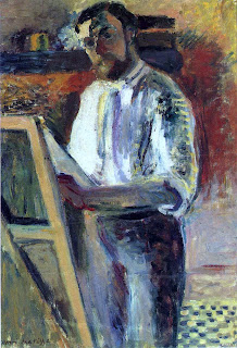 In Shirtsleeves (1900), also known as Henri Matisse's Self Portrait. Henri Émile Benoît Matisse was a French painter.