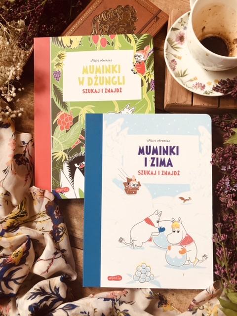 Szukaj i znajdź - Muminki w dżungli // Muminki i zima