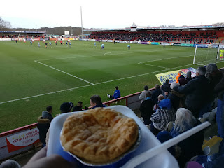 Beef and Onion Pukka Pie Review at Stevenage FC