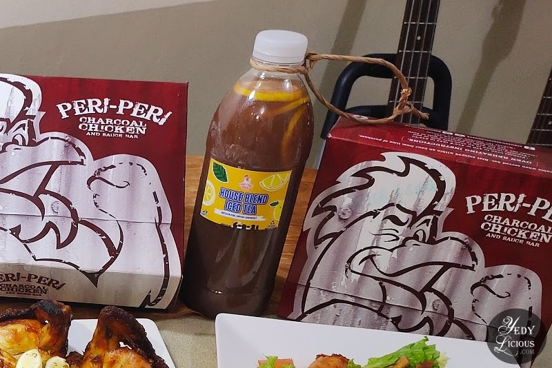 House Blend Iced Tea at Peri-Peri Charcoal Chicken and Grill Philippines