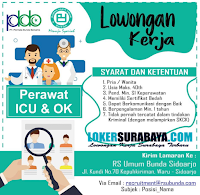 Open Recruitment at Rumah Sakit Umum Bunda Sidoarjo Oktober 2019 Terbaru