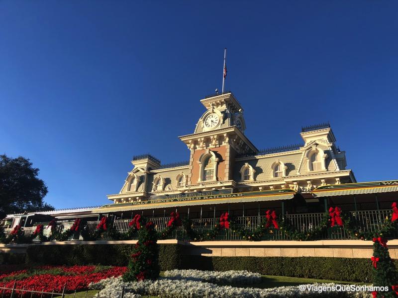 Festa de Natal do Magic Kingdom