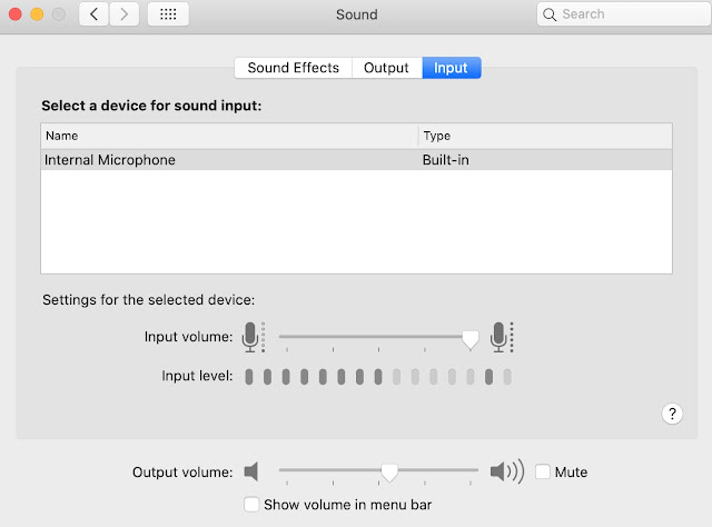 Mengatasi Mikrofon MacBook Yang Mati Atau Tidak Berfungsi