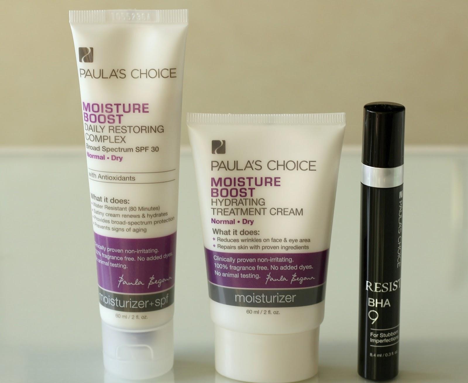 Moisture Boost Daily Restoring Complex SPF 30 Resist BHA 9 Treatment Moisture Boost Hydrating Treatment Cream