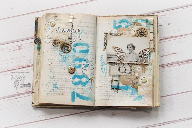 Winged art journal