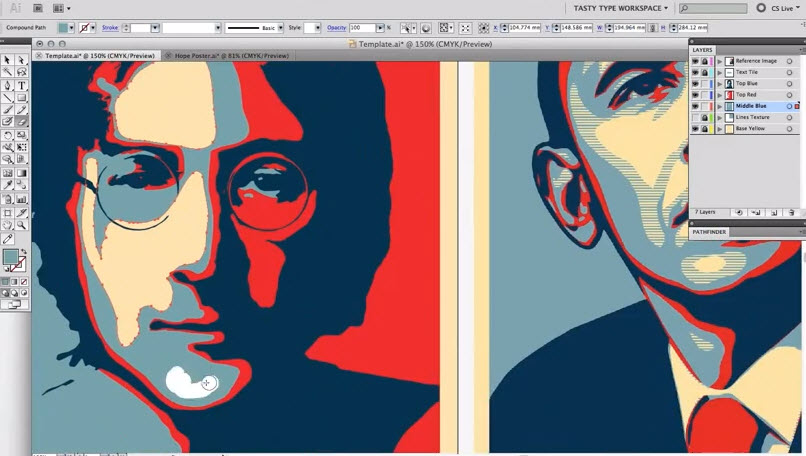 How to Create An Obama Style Hope Poster In Adobe Illustrator ...