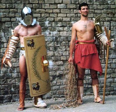 Pemeran Gladiator Modern mirip dengan aslinya
