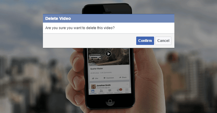 This Bug Could Allow Hackers to Delete Any Video On Facebook