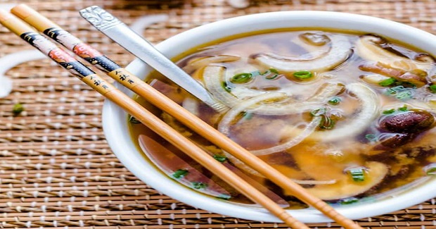 Japanese Onion Soup With Mushrooms Recipe
