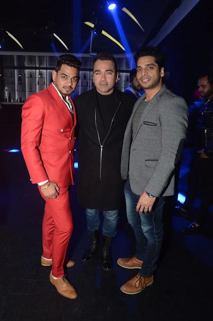 (L-R) Nitin Khannawlia, Amit Talwar, Sarthak Verma