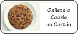Cookie en sartén