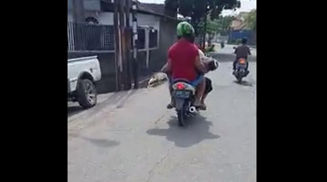Viral Tito Meninggal Dunia, Jenazahnya Dibawa Pakai Motor