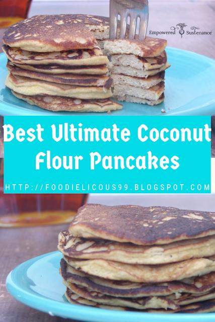 Best Ultimate Coconut Flour Pancakes