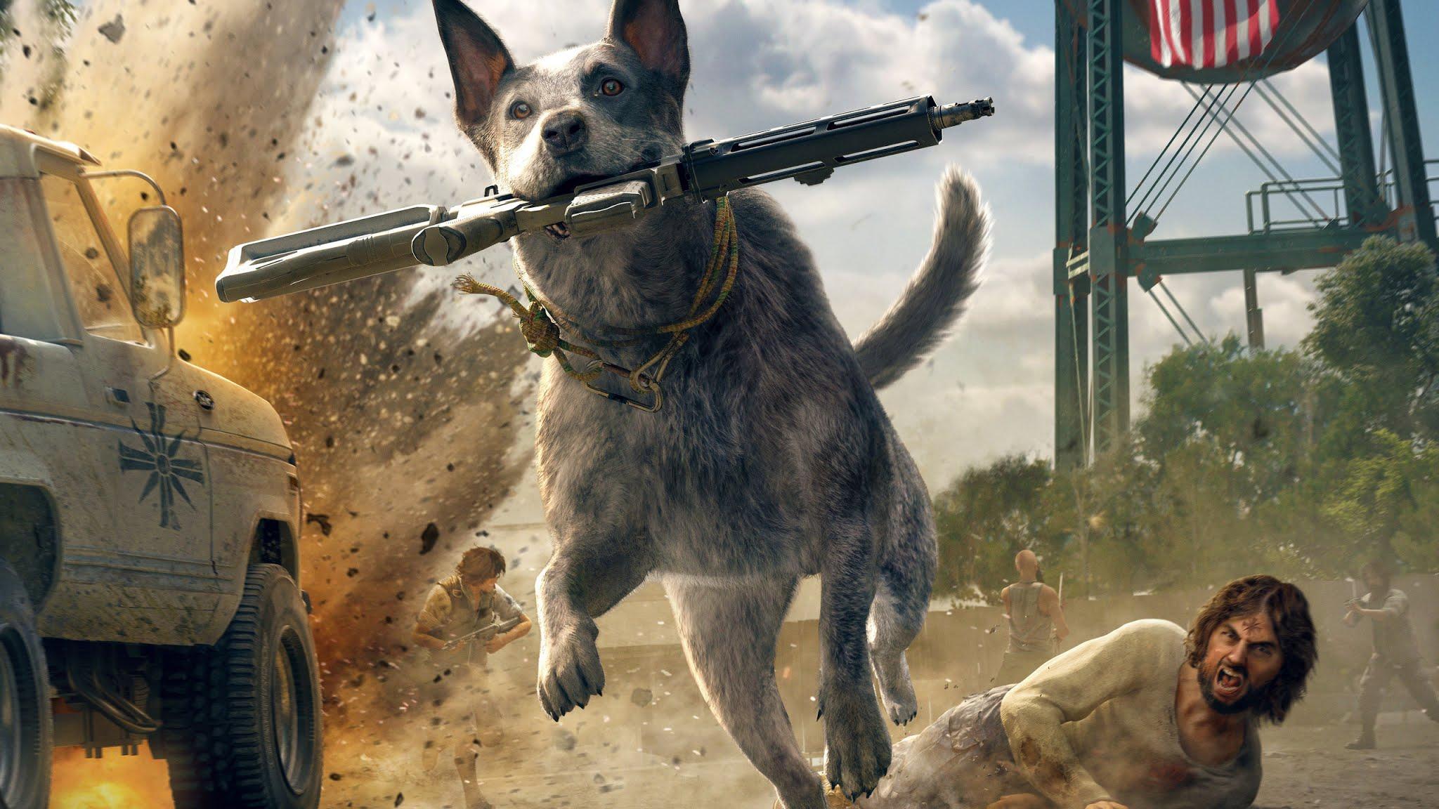 Far Cry 5 Australian Cattle Dog