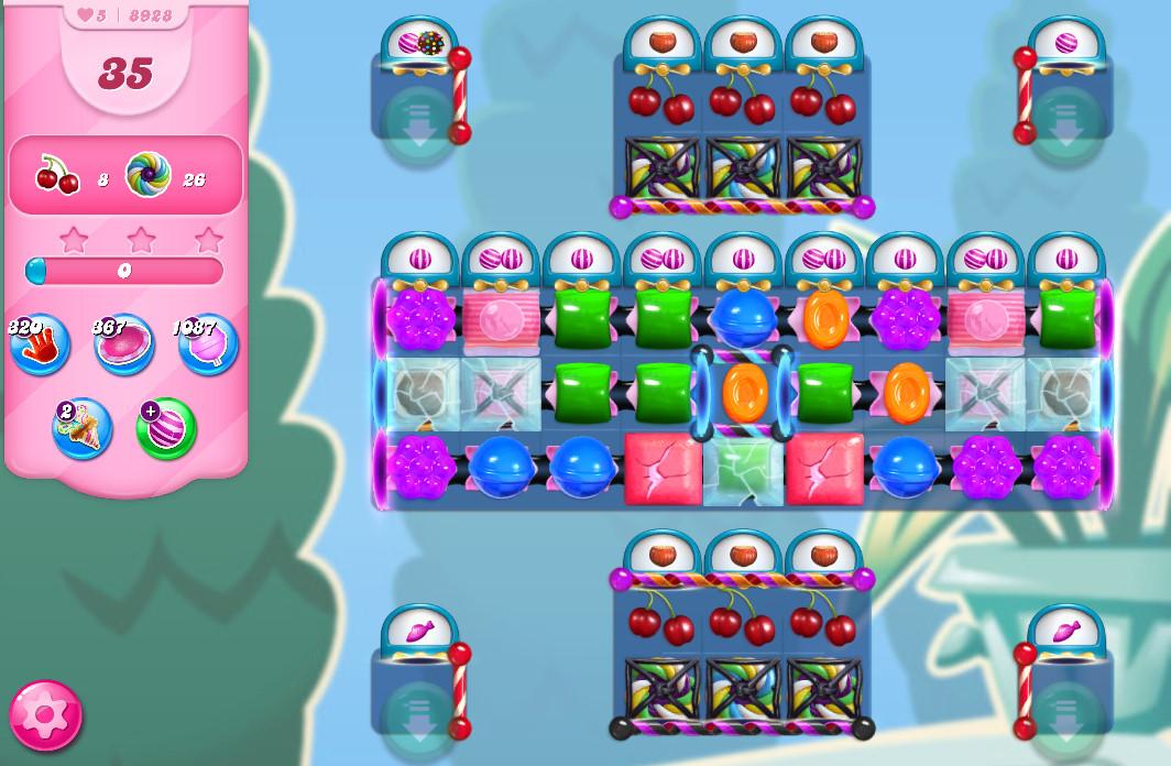 Candy Crush Saga level 8928
