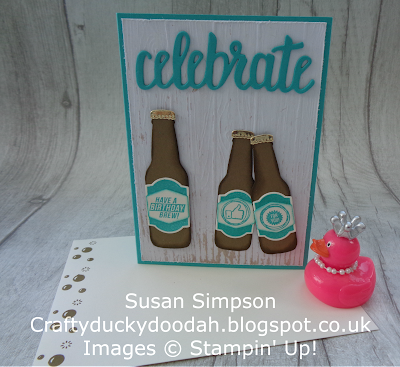 Stampin' Up! UK Independent  Demonstrator Susan Simpson, Craftyduckydoodah!, Bubble Over, Celebrate You Thinlits, Supplies available 24/7 from my online store,