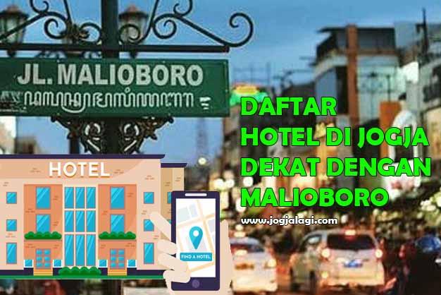 Daftar Hotel Di Jogja Dekat Malioboro