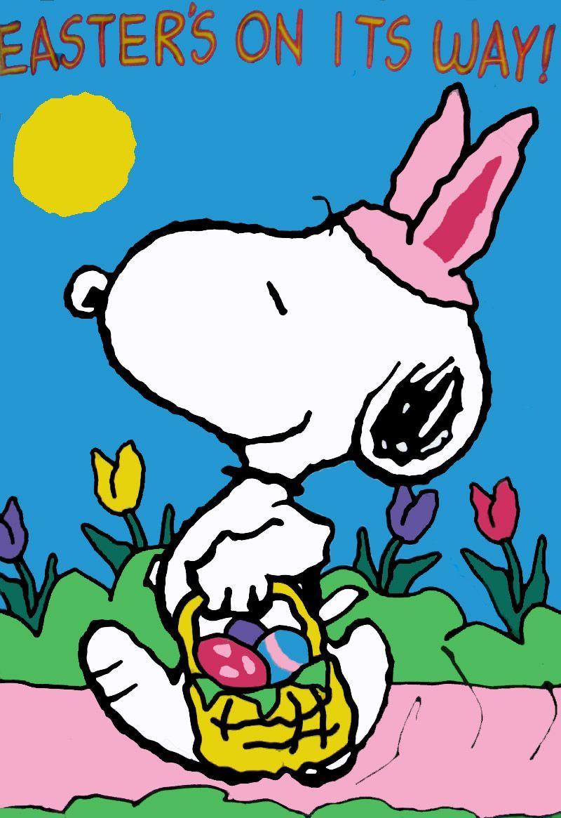 Frohe Ostern Snoopy Bilder