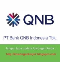 Lowongan Kerja Bank QNB Indonesia