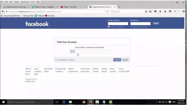 تهكير و إختراق الفيسبوك اون لاين
