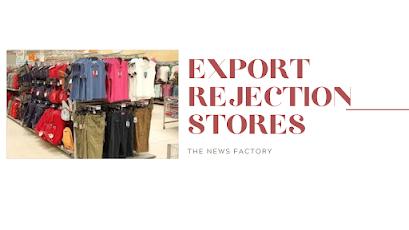 Export, Rejection, Export rejection