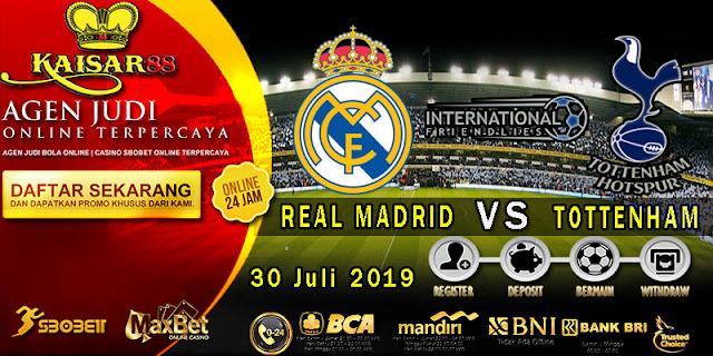 Prediksi Bola Terpercaya Liga Friendlies Real Madrid vs Tottenham Hotspur 30 Juli 2019